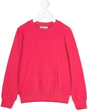 Moschino Kids logo sweatshirt