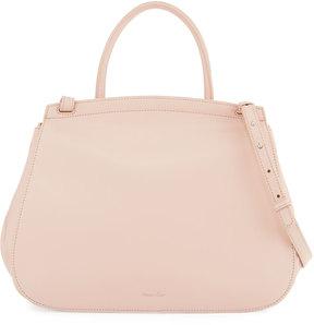 Steven Alan Kate Smooth Leather Satchel Bag, Blush