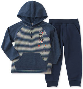 Kids Headquarters 2-Pc. Rocket Hoodie & Pants Set, Baby Boys (0-24 months)