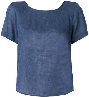 Emporio Armani relaxed-fit blouse