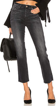 7 For All Mankind Edie With Frayed Hem.