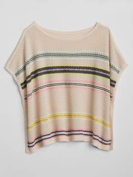 Gap Stripe Poncho Sweater