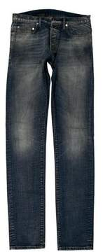 Christian Dior Distressed Skinny Jeans