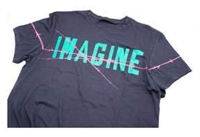 Haider Ackermann Men's 100% Cotton Black Imagine T-shirt Size Small.
