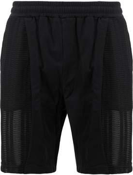 Cottweiler elasticated waist mesh shorts