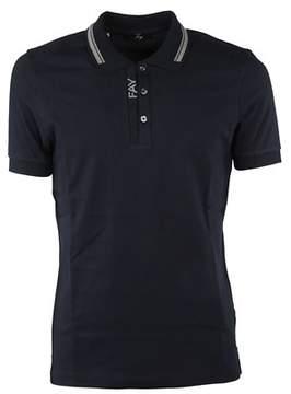Fay Men's Npmb236137sit0u807 Blue Cotton Polo Shirt.