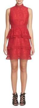 Cynthia Steffe Lace-Tiered Dress