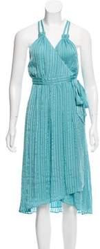 Calypso Silk Wrap Dress