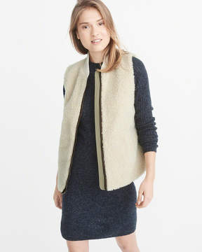 Abercrombie & Fitch Sherpa Vest