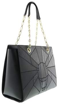 Roberto Cavalli Shopping Bag Elisabeth 003 Black Shopper/tote.