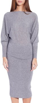 Demy Lee Georgie Sweater Dress Grey