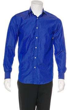 Ralph Lauren Black Label Striped Dress Shirt