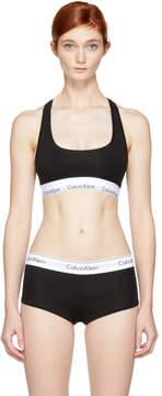 Calvin Klein Underwear Black Modern Cotton Bralette