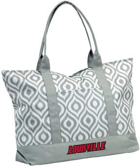 NCAA Logo Brand Louisville Cardinals Ikat Tote