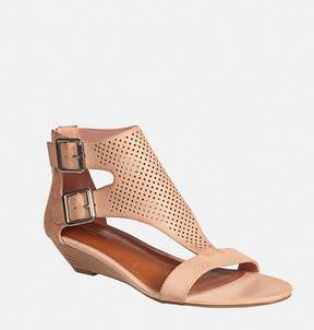 Avenue Graysin Perforated T-Strap Wedge