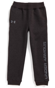 Under Armour Toddler Boy's Threadborne Logo Graphic Sweatpants
