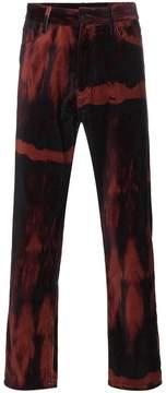 Ann Demeulemeester six pocket cotton velvet trousers
