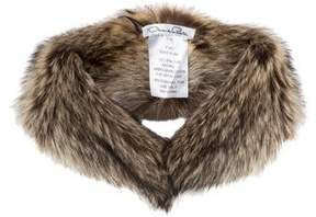Oscar de la Renta Fur Collar w/ Tags