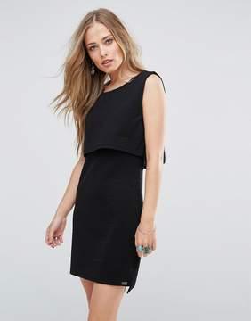 Bellfield Scilla Jacquard Layered Dress