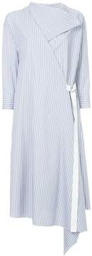 ASTRAET striped belted dress