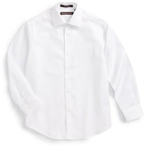 Boy's Michael Kors Solid Dress Shirt