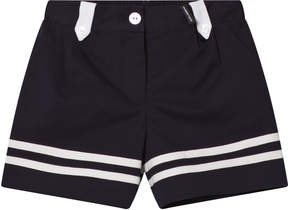 Dolce & Gabbana Navy and White Sailor Shorts