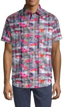 Robert Graham Vanderlinden Printed Cotton Button-Down Shirt