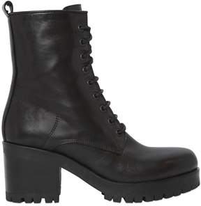 Strategia 50mm Leather Lace-Up Boots