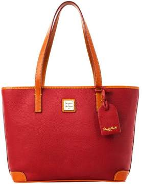Dooney & Bourke Pebble Grain Charleston Bag - CRANBERRY - STYLE