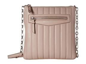 Donna Karan Erin North/South Top Zip Crossbody Cross Body Handbags