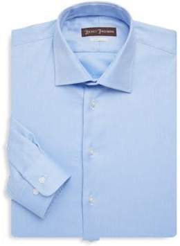 Hickey Freeman Contemporary-Fit Cotton Dress Shirt