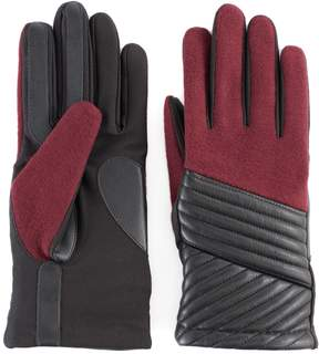 Isotoner Women's Diagonal Stitched Tech Gloves