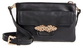 Tommy Bahama Women's Katerini Leather Crossbody Wallet - Black