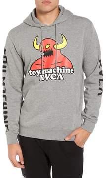 RVCA x Toy Machine Fleece Hoodie