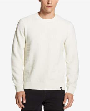 DKNY Men's Textured Crew-Neck Sweater