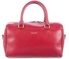 Saint Laurent Baby Classic Duffle Bag - RED - STYLE