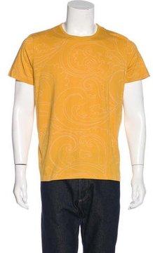 Dries Van Noten Printed Crew Neck T-Shirt