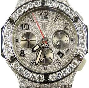 Hublot Big Bang Evolution Ceramic Band 15.95 Diamond 44mm Mens Watch