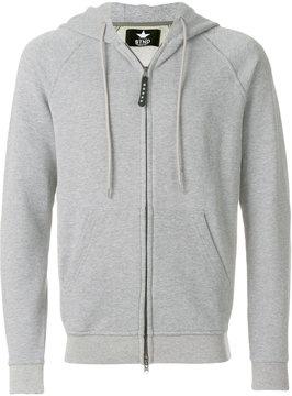 Macchia J zipped hoodie