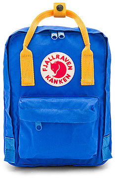 Fjallraven Kanken Mini in Blue.