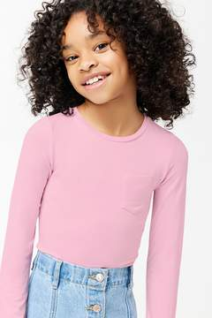 Forever 21 Girls Pocket Bodysuit (Kids)