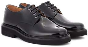 A.P.C. Autumn patent leather Derby shoes
