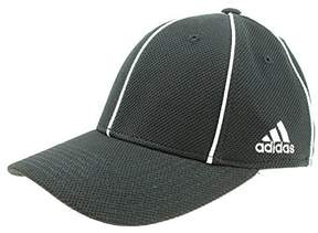 adidas Men's Structured FitMax Flex Hat, Black (Small/Medium)