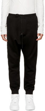 Juun.J Black Archive Drop Lounge Pants