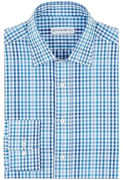 Etro Men's Tattersall Cotton Shirt