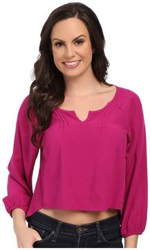 Ariat Cora Cropped Blouse