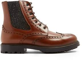 Brunello Cucinelli Smooth-leather boots