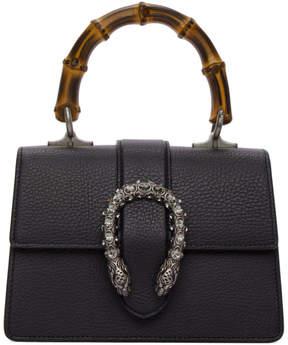 Gucci Black Mini Dionysus Top Handle Bag