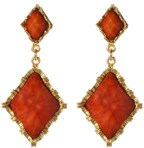Amrita Singh Coral Wainscott Drop Earrings