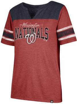 '47 Women's Washington Nationals Match Tri-Blend Tee